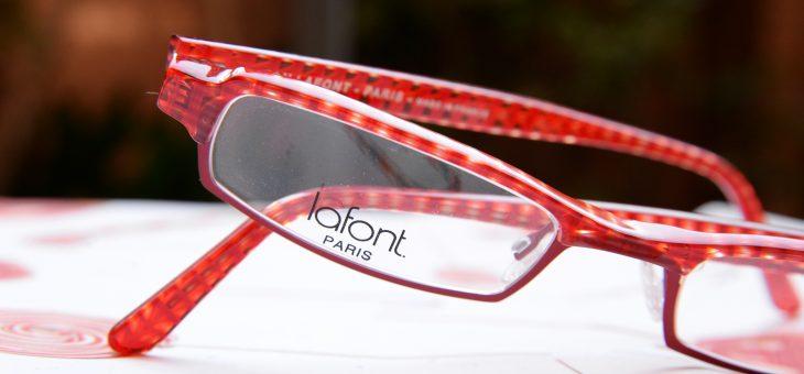 赤い眼鏡*lafont