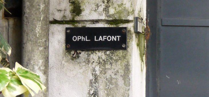 lafont展2019 明日から開催