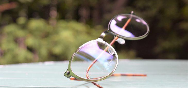 LINDBERG 緑の眼鏡