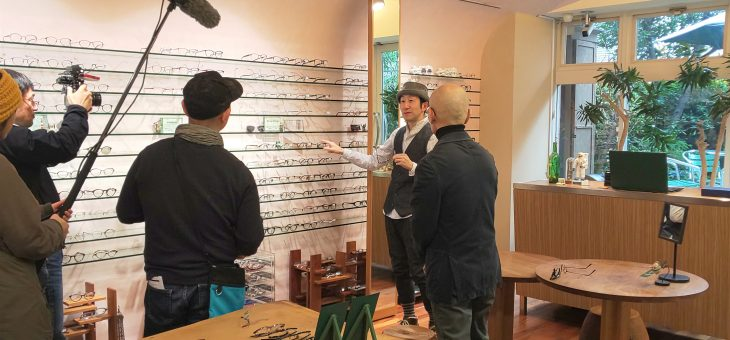 矢柴俊博さんの番組撮影でした