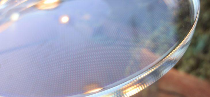 高機能レンズ 網目コーティング