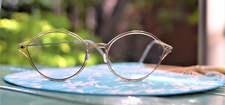 涼しげな眼鏡