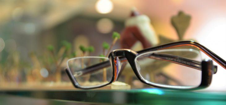 TRACTIONの逆さメガネ